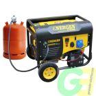Ayerbe Energen 6500 Dual Gasolina/Gas Arranque Eléctrico