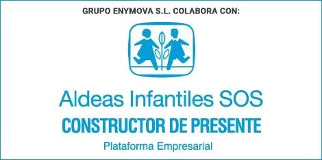 Grupo EnyMova S.L. con Aldeas Infantiles SOS