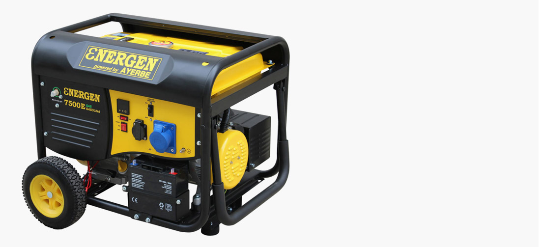 We have the electric generator you need